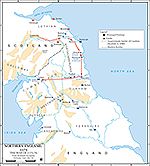 Anglo-Norman Rebellion 1173-1174: First Scottish Invasion