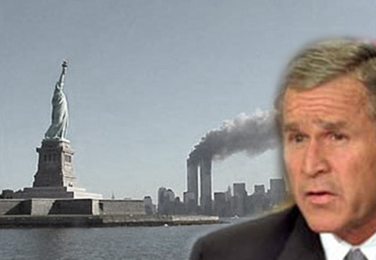 president bush 9 11. 9/11 ADDRESS - GEORGE W. BUSH