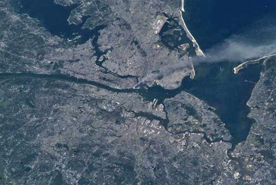 9/11 From Space - NASA