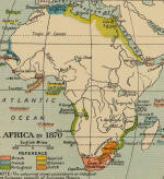 Africa in 1870