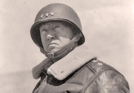 GEORGE S. PATTON PREPPING HIS THIRD U.S. ARMY FOR D-DAY - 1944