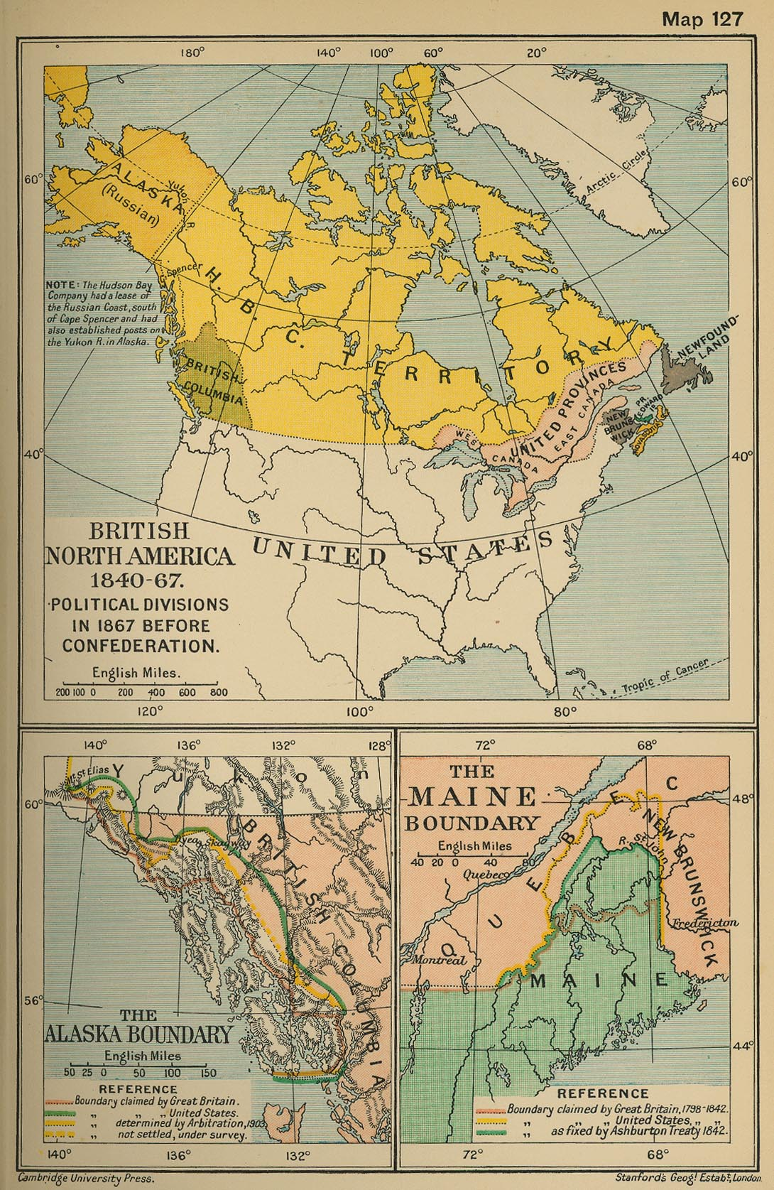 of British North America 18401867