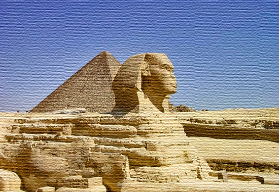 The Ancient Egyptians - The Great Sphinx and the Great Pyramid at Giza