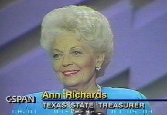 ann richards speech