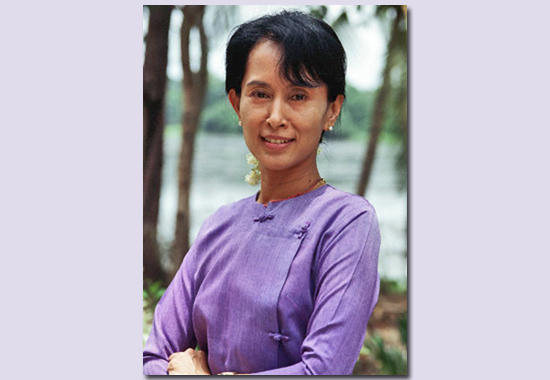 THE STRUGGLE FOR LIFE AND DIGNITY - AUNG SAN SUU KYI
