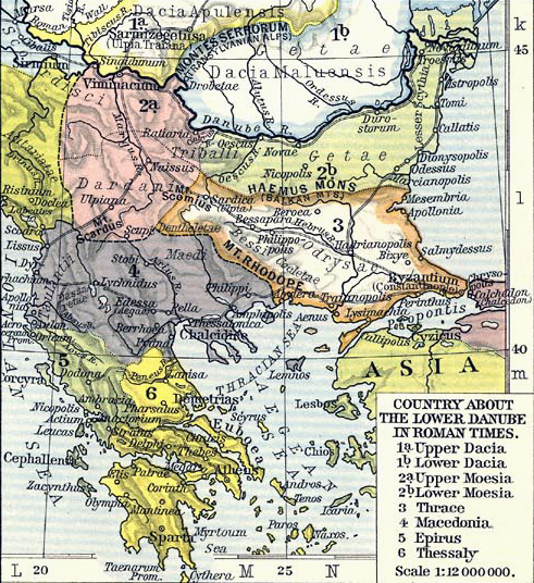 Map Of Asia Minor 60 Ad.History Map Archive 100 Bc To Ad 500
