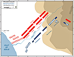 Battle of Issus - Initial Situation 333 BC - Map