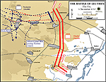 Map of the Battle of Leuthen - December 5, 1757 - The Fix