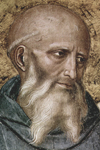 Saint Benedict of Nursia 480 - 547