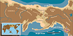 Map of Ancient Beringia