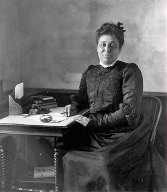 Margaret James Murray, Booker T. Washington's Wife, in 1906