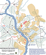 Battle of the Brandywine - Map