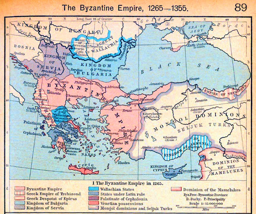 a history of the persian conflict and the byzantines answer