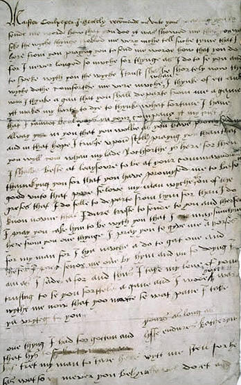 CATHERINE HOWARD'S LETTER TO THOMAS CULPEPPER