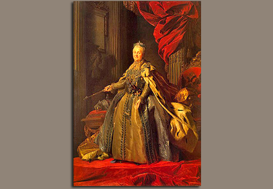 Catherine II the Great 1729-1796