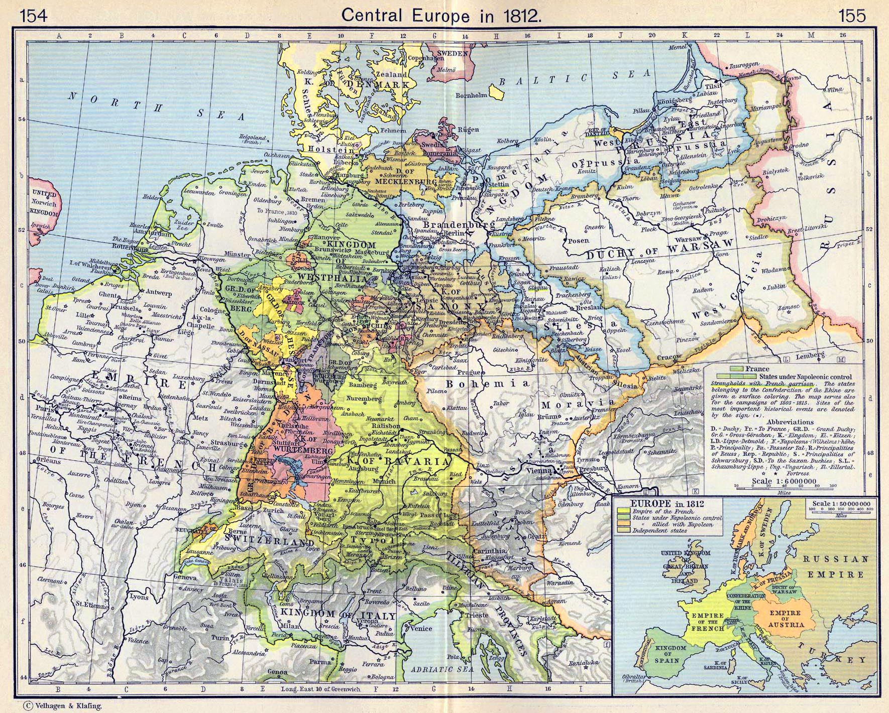Map Of Napoleonic Europe 1812 Map of Europe in 1812 Map Of Napoleonic Europe 1812
