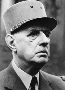 Charles de Gaulle, 1890 - 1970