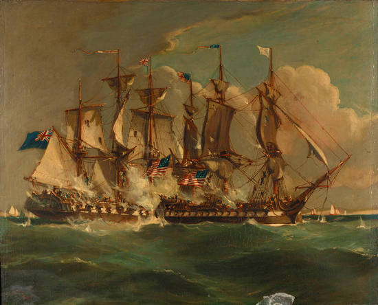 Action between HMS Shannon and USS Chesapeake - 1 June 1813