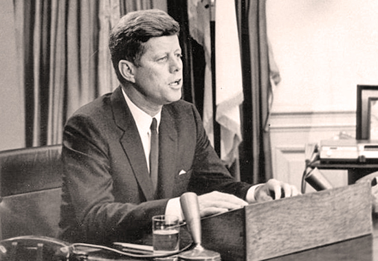 JFK'S ADDRESS TO THE NATION ON CIVIL RIGHTS 1963