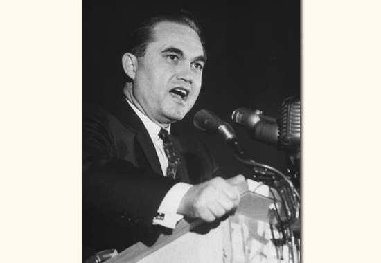 AGAINST RACIAL INTEGRATION - GEORGE C. WALLACE 1964