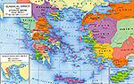 Greece and Athenian Empire 450 BC