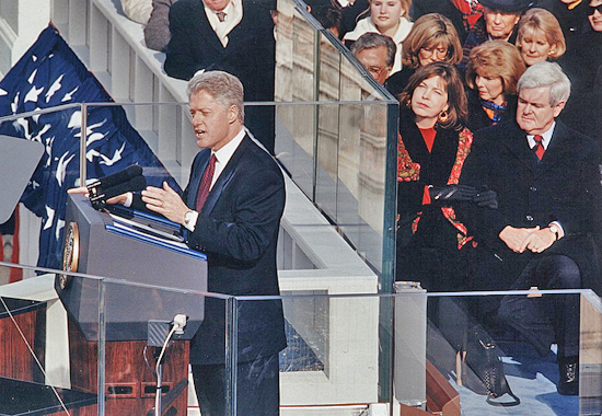 READY FOR NEW CHALLENGES - BILL CLINTON 1997