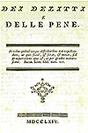 Dei delitti e delle pene / On Crimes and Punishment
