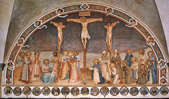 Crucifixion With Saints - Fra Angelico