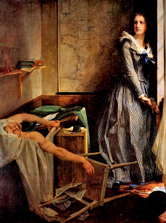 The Assassination of Marat by Charlotte Corday