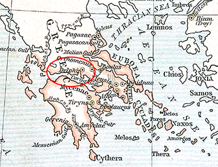 The ancient greeks tribes and peoples in history map location of delphi ancient greece gumiabroncs