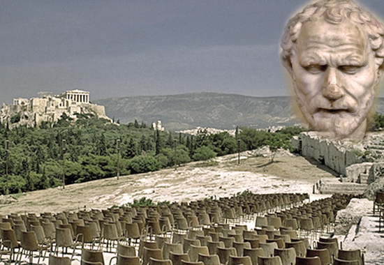 DEMOSTHENES BEFORE THE ATHENIAN ASSEMBLY