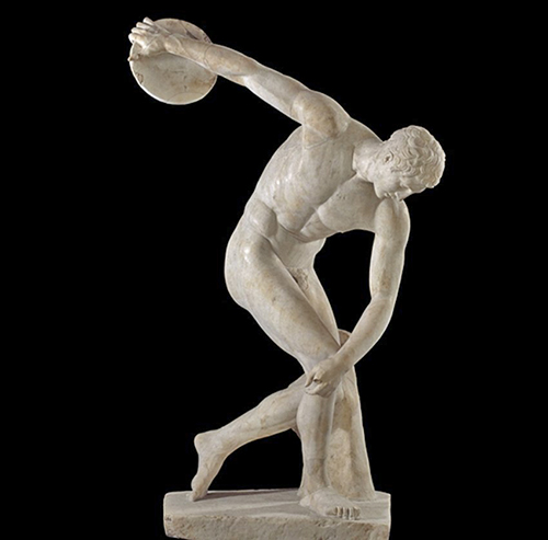 Discobolus, aka the Discus Thrower, by Myron