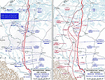 Map of WWI: Eastern Front - May-Sept 1916 - the Brusilov Offensive