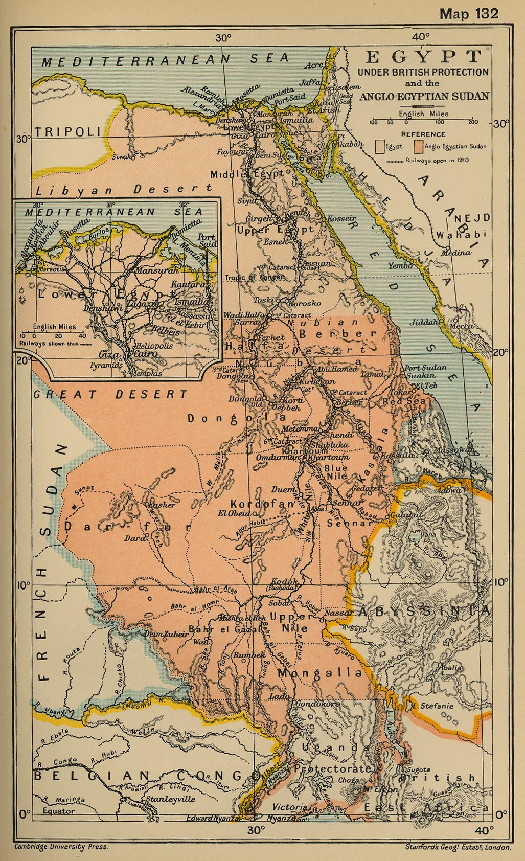 Map Of Egypt Sudan Lower Egypt In - Map of egypt picture