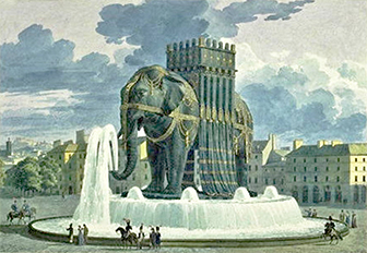 Bastille history dictionary for Hotel design elephant