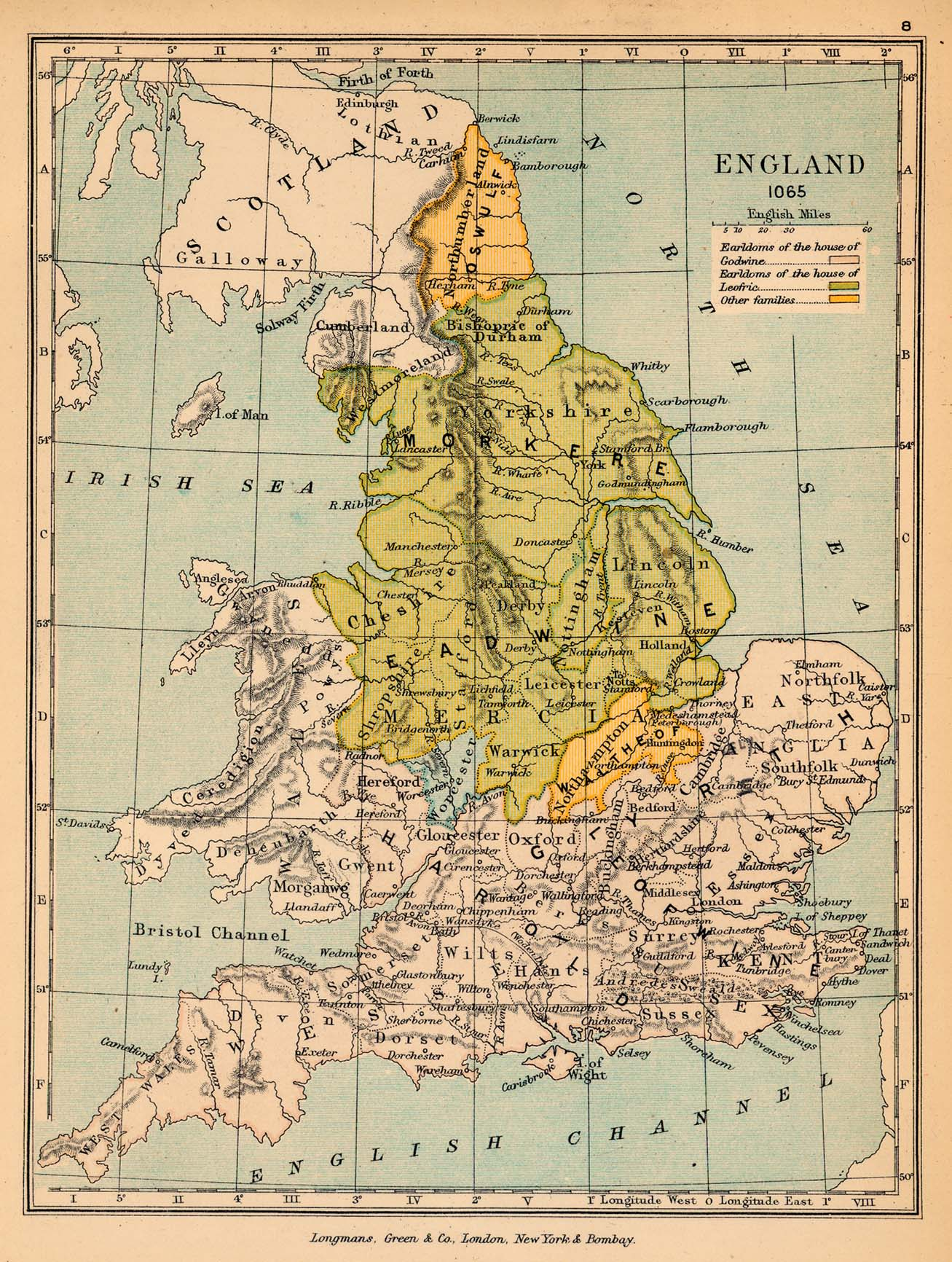 Of England In - Map of england