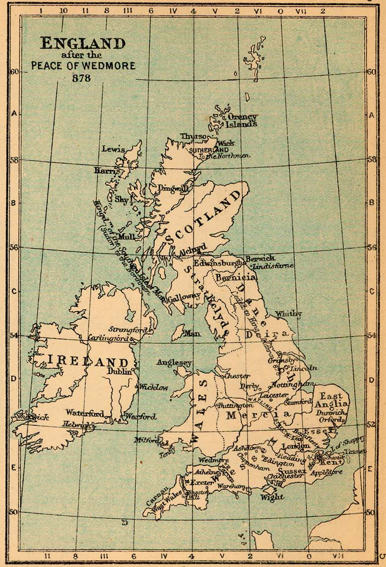 Map Of Uk 1500.Map Of England 878