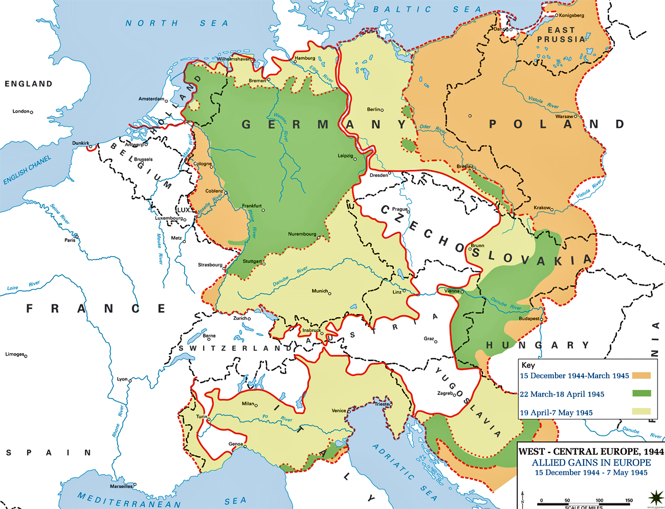 Map Of Europe In - Germany map ww2