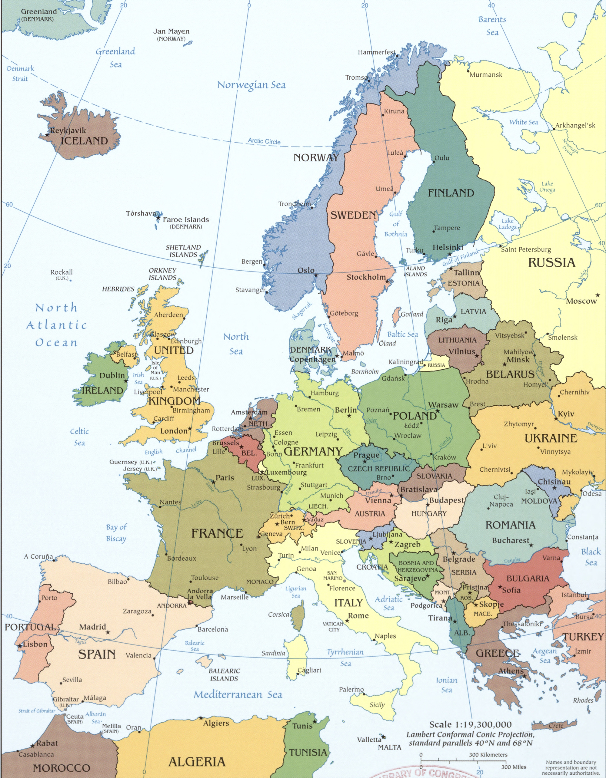 Map Of Europe 1780.Map Of Europe 2008