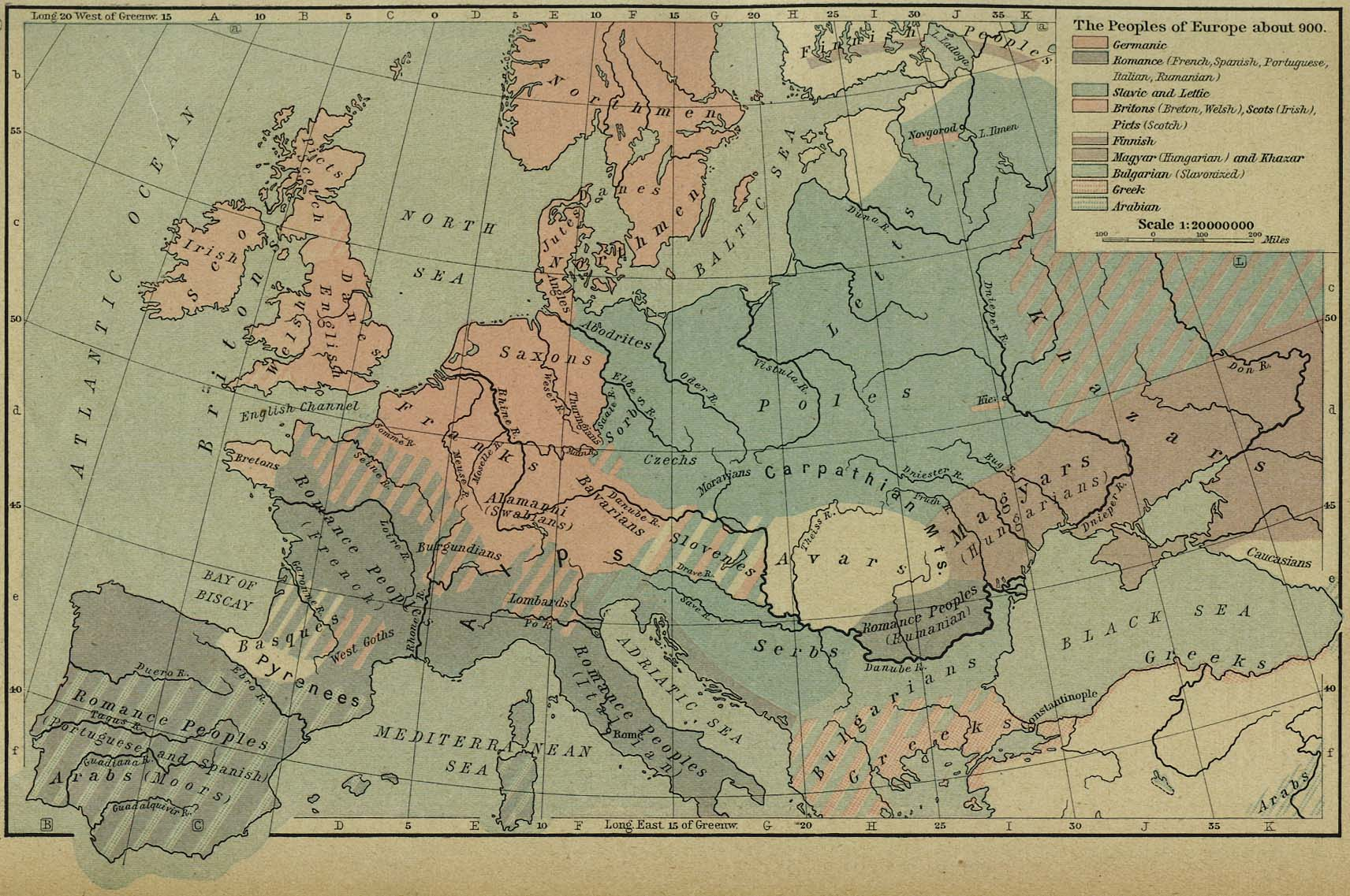 the peoples of europe about 900