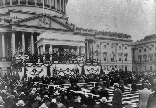 Image result for fdr gives his inauguration speech in 1933