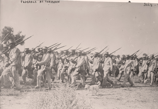 FEDERALS AT TORREÓN