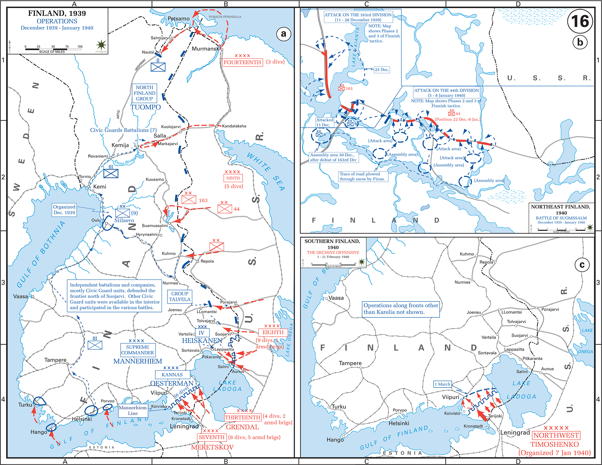 Map of wwii finland 19391940 wwii russo finnish war december 1939 february 1940 gumiabroncs Choice Image