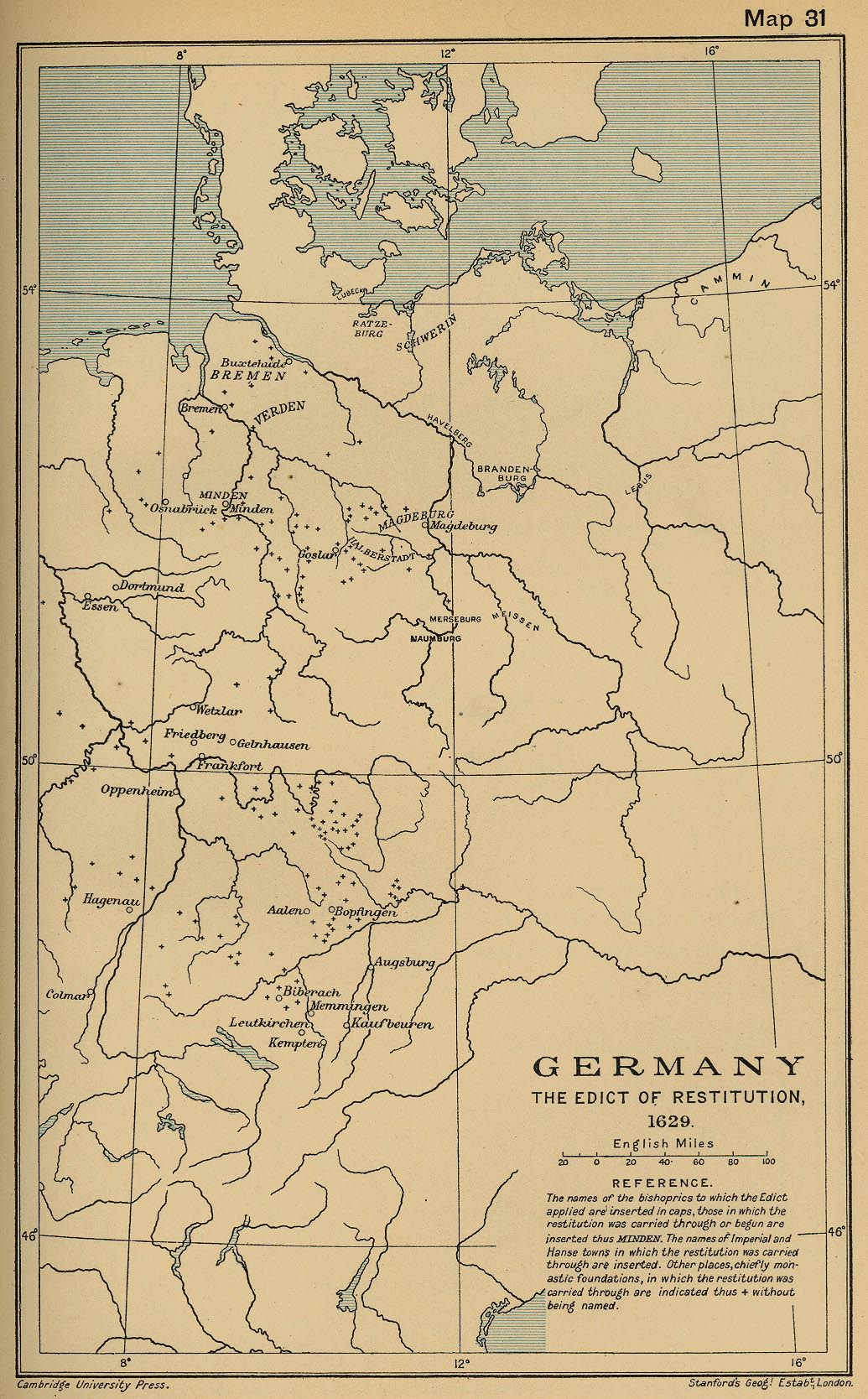 Germany Restitution 1629