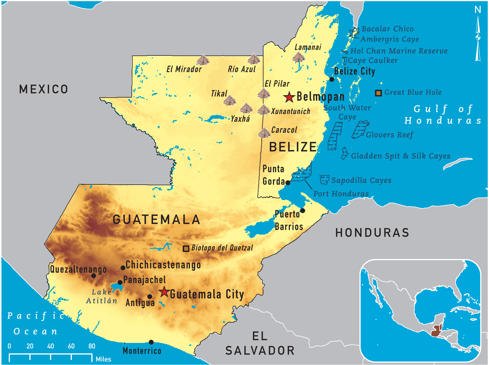 Map of guatemala and belize 2011 gumiabroncs