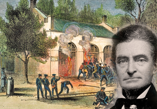 JOHN BROWN AND THE RAID ON HARPERS FERRY - 1859