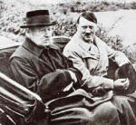 Hindenburg and Hitler driving around together
