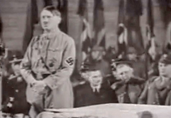HITLER NOW SPEAKS AS CHANCELLOR - BERLIN, FEBRUARY 1933