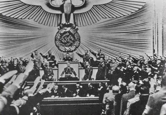 ADOLF ON THE ROLL - SEPTEMBER 1, 1939 IN BERLIN