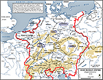 Map of the Holy Roman Empire 1618